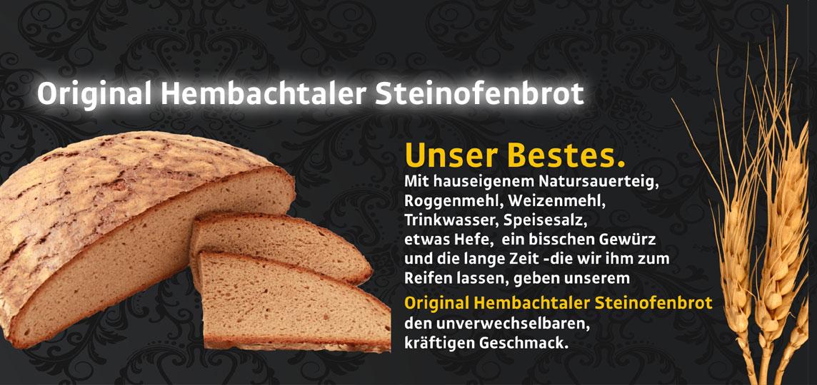 Original Hembacher Steinofenbrot